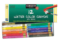 Sargent Art - 12 Watercolor Crayons