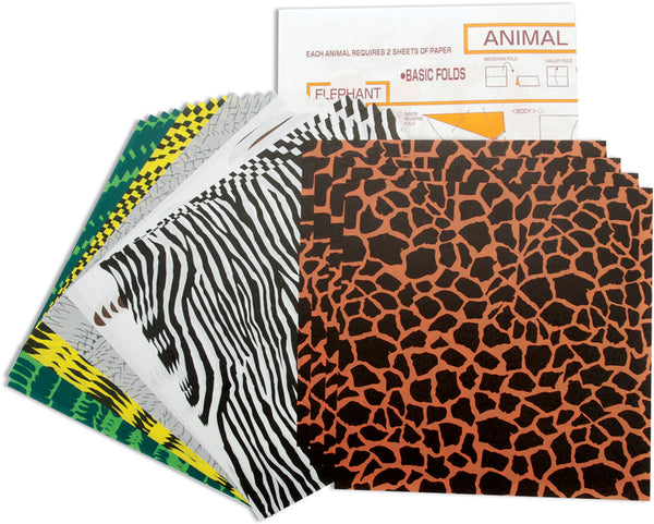 Origami Paper Animal Patterns