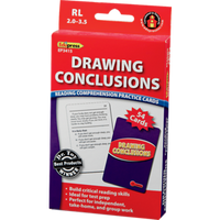 Drawing Conclusions: Reading Comprehension Practice Cards RL-2.03.5