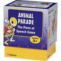 Last One Standing Animal Parade Parts of Speech