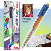 The Classics 6-Color Bible Highlighter Mechanical Pencil