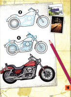 How to Draw - Harley Davidson