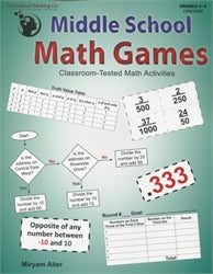 Middle School Math Games : Classroom-Tested Math Activities