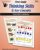 First Grade Thinking Skills & Key Concepts: Teacher's Manual