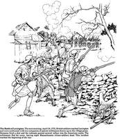 Story of the American Revolution Coloring Book