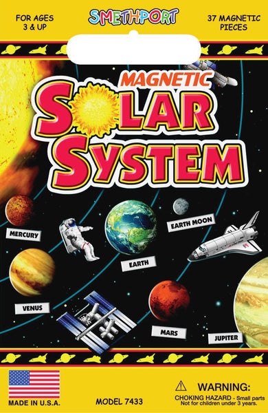 """Create a Scene"" Magnetic Solar System"