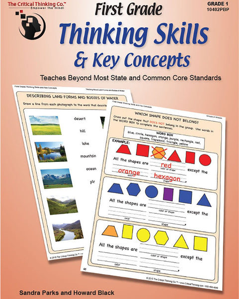 First Grade Thinking Skills & Key Concepts