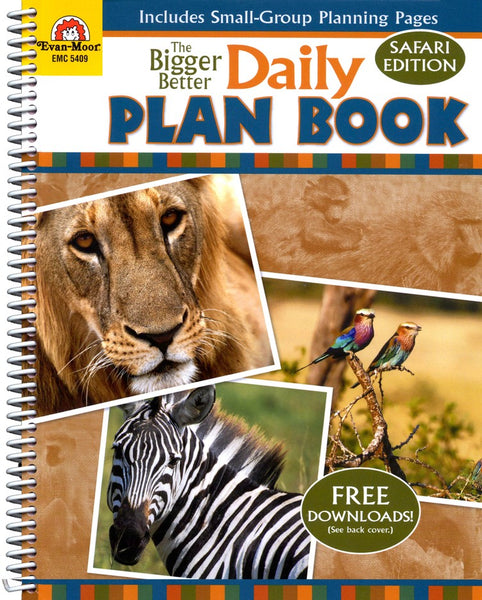 The Bigger Better Daily Plan Book: Grades K-6