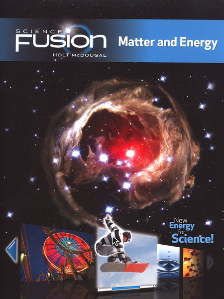 Science Fusion Homeschool Package Grades 6-8 Module H: Matter and Energy