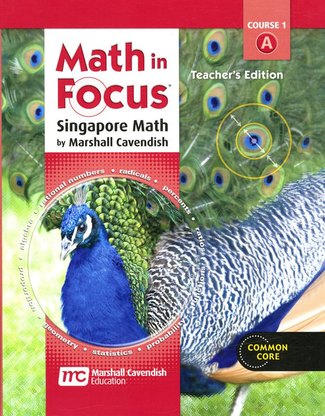 Math in Focus: Singapore Math Homeschool Package, 1st semester Grade 6