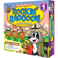Ranger Rick's Rockin' Raccoon Math Game-Grade 1
