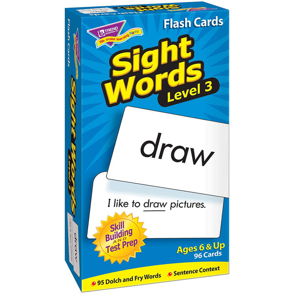 Skill Drill: Sight Words Level 3 Flash Cards