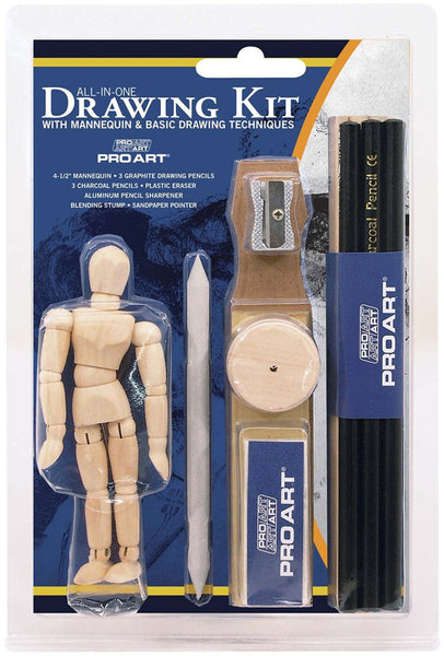 PRO ART All-In-One Drawing Set