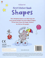 First Sticker Book Shapes