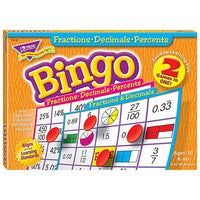 Fractions, Decimals, & Percents Bingo