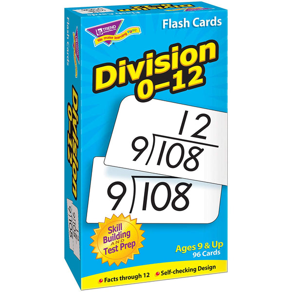 Skill Drill: Division 0-12 Flash Cards