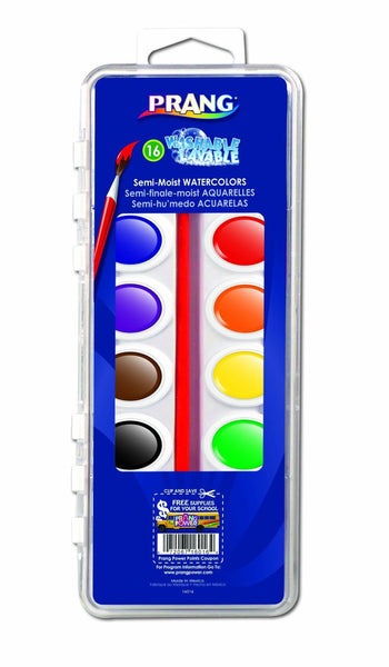 Prang - 16 Washable Watercolors