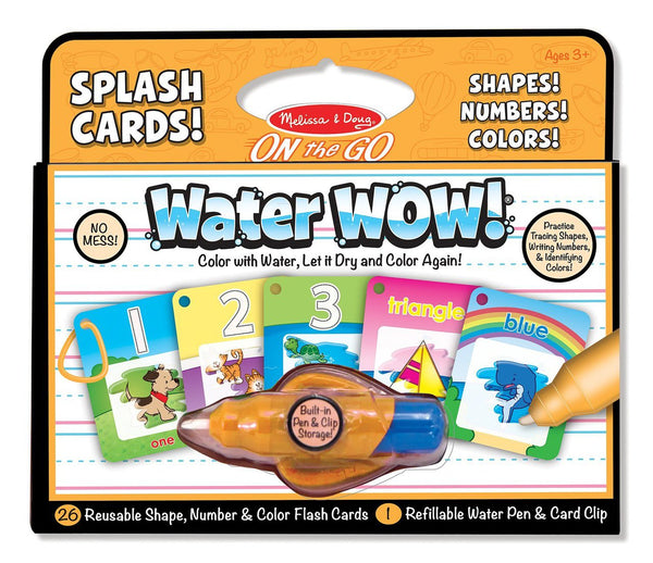 Water Wow! Shapes, Numbers, Colors Kit