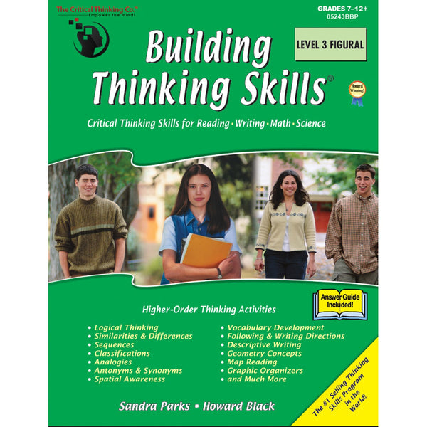 Building Thinking Skills® Level 3 Figural - Instruction/Answer Guide
