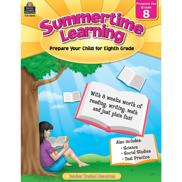 Summertime Learning (Grade 8)