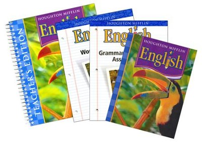 Houghton Mifflin English Homeschool Package Grade 4