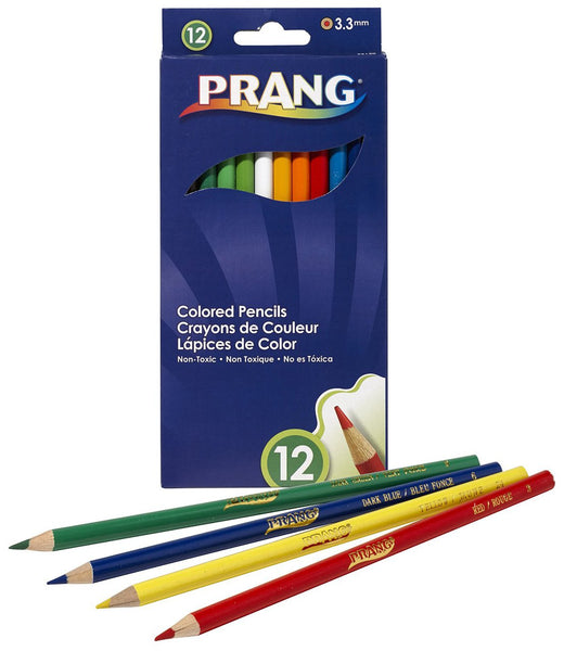 Prang - 12 Color Pencils