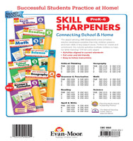 Skill Sharpeners: Grammar and Punctuation, Grade K