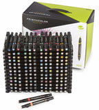 Prismacolor Double Ended Brush Markers 156 Color Set