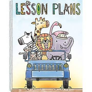 Safari Friends Lesson plan Book