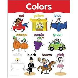 Colors Basic Skills Chart