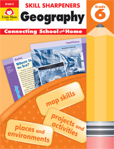 Skills Sharpener: Geography Grade 6