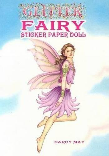 Glitter Fairy Sticker paper Doll