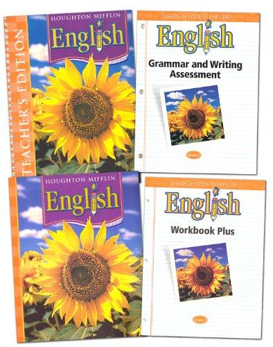 Houghton Mifflin English Homeschool Package Grade 2
