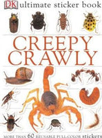 Ultimate Sticker Book Creepy Crawly