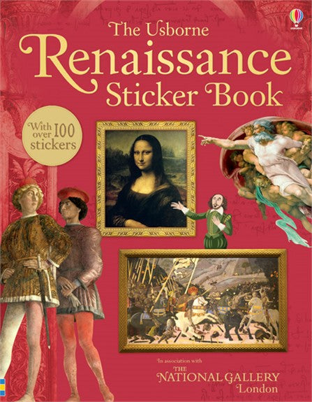 The Usborne Renaissance Sticker Book