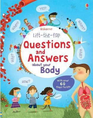Usborne Lift-the-Flap Question and Answers About Your Body
