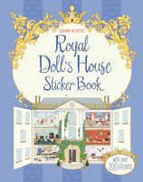 Royal Dollhouse Sticker Book