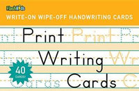 Print Writing Wipe-off Cards