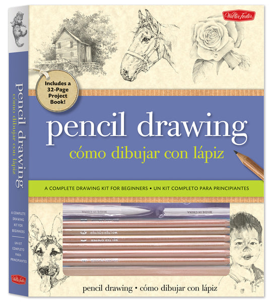 Pencil Drawing Kit by Walter Foster