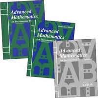 Saxon Advanced Math Homeschool Kit