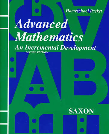 Saxon Advanced Math Answer Key Booklet & Test Forms