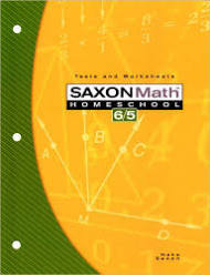 Saxon Math 6/5 Tests & Worksheets