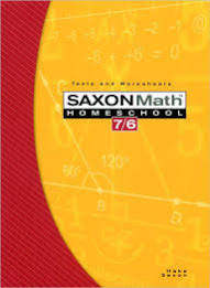 Saxon Math 7/6 Tests & Worksheets