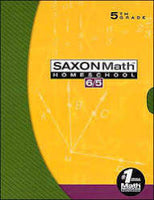 Saxon Math 6/5 Box Set