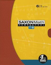 Saxon Math 7/6 Box Set