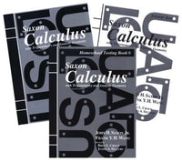 Saxon Math Calculus Homeschool Kit