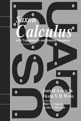 Saxon Math Calculus Homeschool Packet