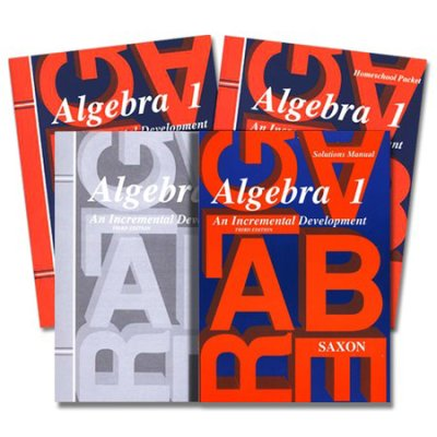 Saxon Math Algebra 1 Kit With Solutions Manual