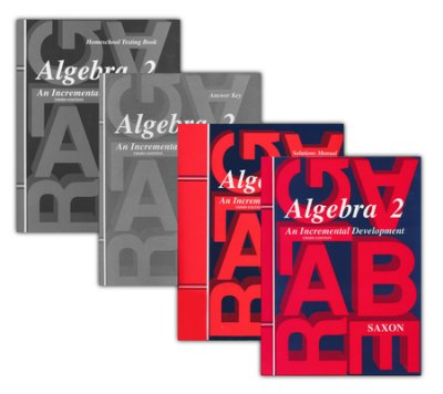Saxon Math Algebra 2 Kit With Solutions Manual