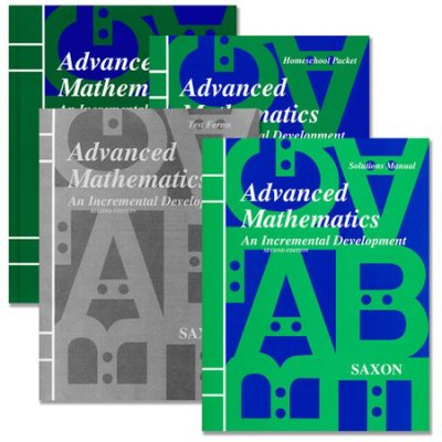 Saxon Advanced Math Kit With Solutions Manual